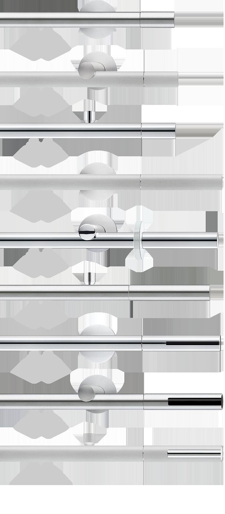 vorhangstange aluminium