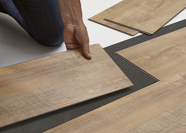 Click installation for Click flooring