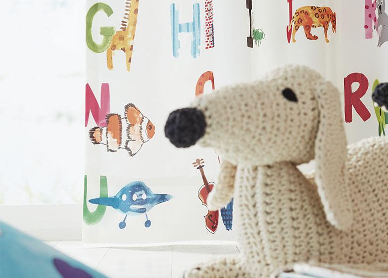 Vorhang für Kinderzimmer ABC | Gardisette