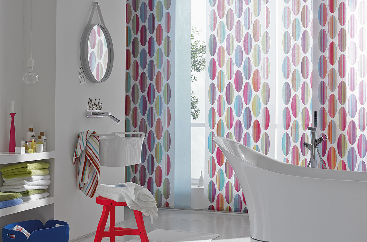 The Vivacious Trevira CS Article Combines Straightforward Graphics With A Playful Note And Sets Strong Accents In Residential Use