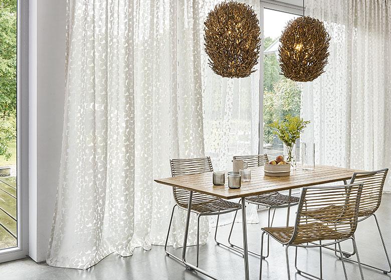 vorhang mit universalband von jab anstoetz. Black Bedroom Furniture Sets. Home Design Ideas